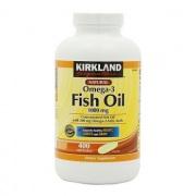 Dầu Cá Kirkland Fish Oil Omega 3 - Bổ Mắt, Tốt Tim Mạch 400 Viên
