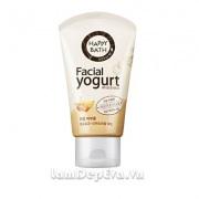 Sữa Rửa Mặt Happy Bath Natural Facial Yogurt Của Hàn Quốc