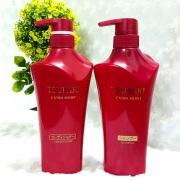 Bộ dầu gội Shiseido Tsubaki màu đỏ 500ml của Nhật Bản