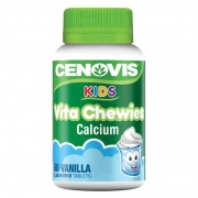 Viên kẹo Canxi cho bé Cenovis Kids Vita Chewies Calcium 60...