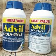 Thuốc advil liqui gels viên uống giảm đau của Mỹ, giá tốt