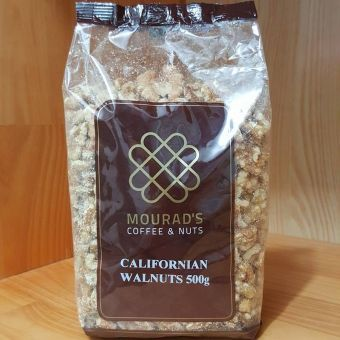 Hạt óc chó Mourads Californian Walnuts 500g Chính hãng Pháp