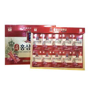 Hồng sâm lát tẩm mật ong Korean Red Ginseng Sliced Hàn Quốc