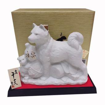 Rượu hình con chó trắng Sake Hachiko 2018 720ml của Nhật Bản