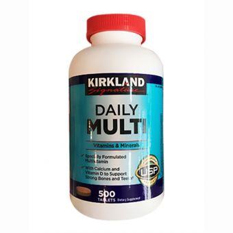 Vitamin tổng hợp Daily multi vitamin & mineral Kirkland 500 viên của Mỹ
