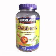 Kẹo dẻo Kirkland Children's Complete Multivitamin của Mỹ