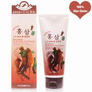 Sữa Rửa Mặt Hồng Sâm Foodaholic Của Hàn Quốc-Tuýp 180ml