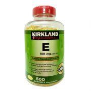 Vitamin E 400 I.U Kirkland Signature 500 Viên Của Mỹ
