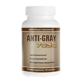 Viên uống Anti-Gray 7050 của Mỹ ngăn ngừa tóc bạc sớm