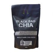 Hạt chia hữu cơ Black Bag Chia túi 500g của Úc