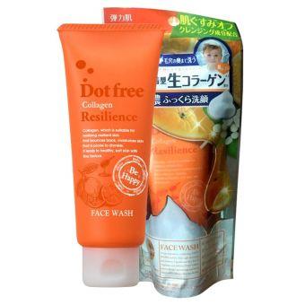 Sữa rửa mặt Collagen tươi Dotfree Resilience 100g của Nhật