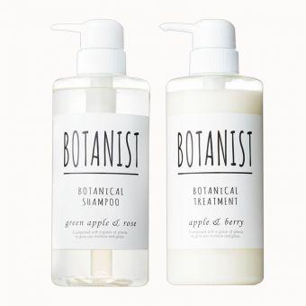 Set dầu gội xả hữu cơ Botanist Botanical chuẩn Nhật