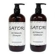 Bộ đôi dầu gội xả thực vật Satori Batanical của Nhật