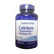 Viên bổ sung Calcium Magnesium Vitamin D3 Puritan's Pride