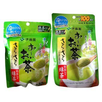 Bột trà xanh nguyên chất Matcha Itoen 80g của Nhật