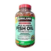 Dầu cá Kirkland Wild Alaskan Fish Oil 1400mg của Mỹ 230 viên