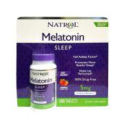 Viên ngậm giúp ngủ ngon Natrol Melatonin Sleep 5mg 250 viên