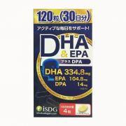 Viên uống bổ sung DHA, EPA & DPA hộp 120 viên của Nhật