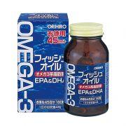 Dầu cá Omega 3 EPA & DHA Orihiro 180 viên Nhật Bản giá tốt