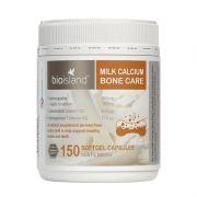 Viên sữa bổ sung canxi Bio Island Milk Calcium Bone Care Úc