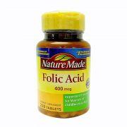 Viên uống bổ sung Folic Acid 400mcg Nature Made 250 viên