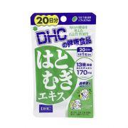 Viên uống trắng da DHC Coix Extract 20 viên chính hãng Nhật