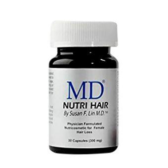 Thuốc Uống Mọc Tóc, Trị Hói Đầu MD Nutri Hair Của Mỹ - 30 Viên