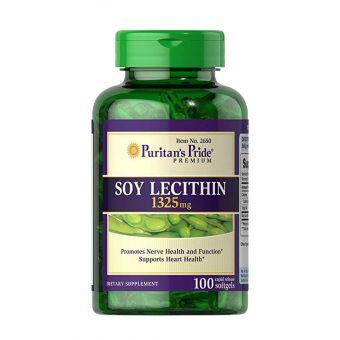 Tinh Chất Mầm Đậu Nành Soy Lecithin 1325 Mg Của Mỹ - Hộp 100 Viên