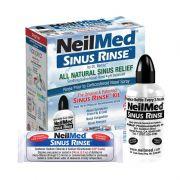 Bộ rửa mũi NeilMed Sinus Rinse bình 240ml + 50 gói muối
