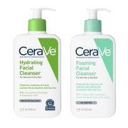 Sữa rửa mặt Cerave Foaming Facial Cleanser 355ml 2 loại