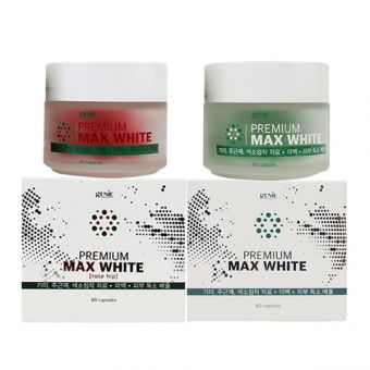 Viên uống trắng da Premium Max White Genie Hàn Quốc 60 viên
