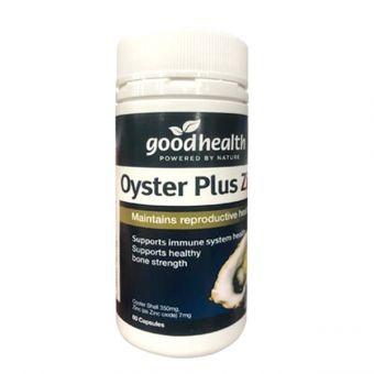 Tinh chất hàu Oyster Plus Zinc Goodhealth mẫu mới nhất 60 viên