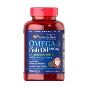 Dầu Cá Omega 3 Fish Oil 1200mg 90 Viên-Puritan's Pride
