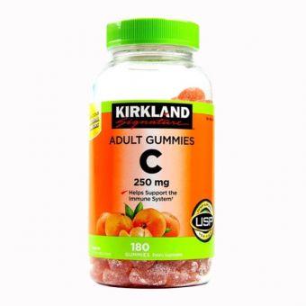 Kẹo dẻo Vitamin C Kirkland Adult Gummies C 250mg Mỹ