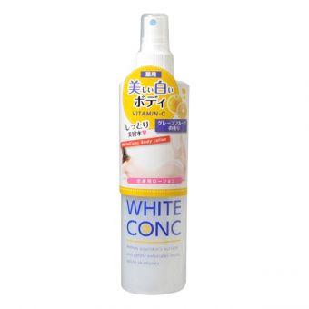 Lotion xịt dưỡng trắng toàn thân White Conc Vitamin C 245ml