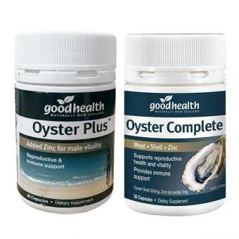 Viên uống tinh chất hàu Goodhealth Oyster Plus 30v mẫu mới