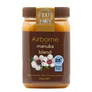 Mật ong Airborne Manuka Blend 25+ New Zealand 500g