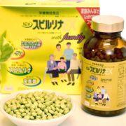 Tảo vàng cao cấp Spirulina EX With Family hộp 2000 viên của Nhật Bản