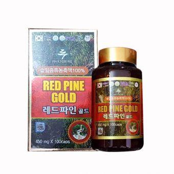 Tinh dầu thông đỏ Hàn Quốc Red Pine Gold 100 viên, giá tốt
