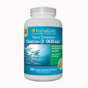 Dầu cá Omega 3 Trunature Triple Strength Omega 3 900mg Mỹ