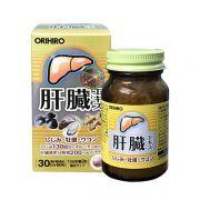 Viên uống bổ gan, giải độc gan Orihiro 60 viên chính hãng Nhật