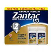Viên uống Zantac 150mg Maximum Strength hỗ trợ dạ dày