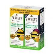 Set siro ho ngày đêm cho bé Zarbee's Cough Syrup + Mucus