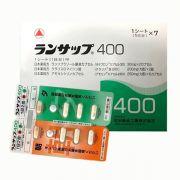 Thuốc đặc trị vi khuẩn HP Lansup 400 hỗ trợ dạ dày