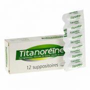 Thuốc đặt trĩ Titanoreine của Pháp - Thuốc đặt trĩ ngoại 12 viên