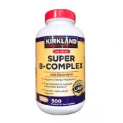 Vitamin B tổng hợp Super B-Complex Kirkland 500 viên Mỹ