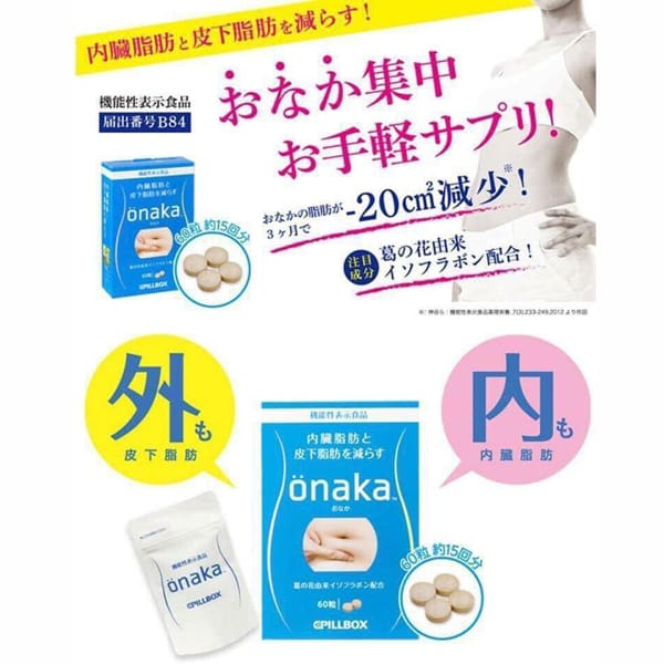 Kết quả hình ảnh cho giảm mỡ bụng onaka
