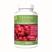 Viên uống hỗ trợ đường tiết niệu Trunature Cranberry 650mg 140v