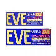 Thuốc giảm đau hạ sốt Eve Quick DX 20 viên, 40 viên