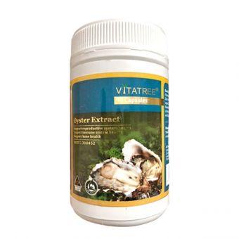 Tinh chất hàu Oyster Extract Vitatree hộp 90 viên chính hãng Úc